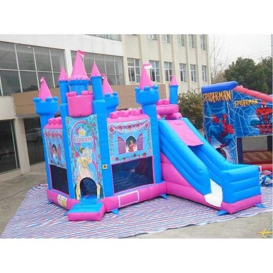 Pula Pula Inflavel Castelo Princesas