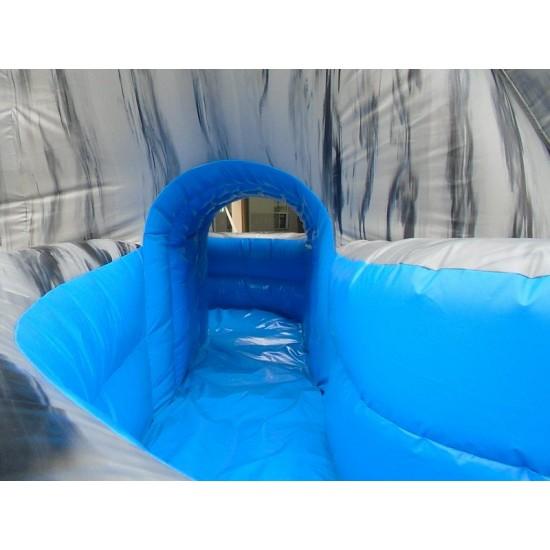 Tobogã De Água Inflável Do Furacão