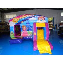 Princesa Bouncy Castelo Com Tobogã